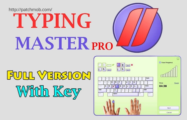 Typing Master Pro Crack With Serial Key Free Download cover
