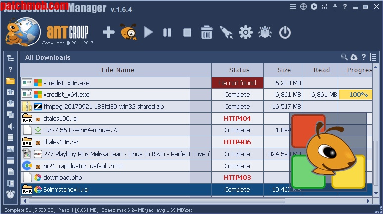 Ant Download Manager Pro latest